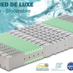 Materasso Kuschelmed de Luxe Ipoallergenico Sfoderabile in Aquatech
