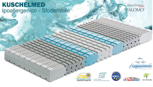 Materasso Kuschelmed Ipoallergenico Sfoderabile in Aquatech