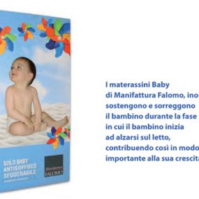 Materassino bambini in Aquatech Solo Baby Antisoffoco anallergico sfoderabile
