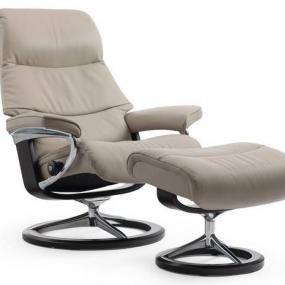 Poltrona Stressless modello View con base Balance Adapt