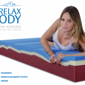 Materasso Relaxody in Memory Fresh Blue
