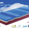 Materasso Relaxody in Memory Fresh Blue Dispositivo Medico di Classe 1