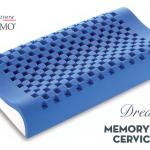 Guanciale Dream Memory Blue cervicale di Manifattura Falomo