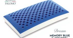 Guanciale Dream Memory Blue saponetta di Manifattura Falomo