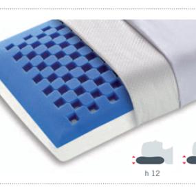 Particolare guanciale Dream Memory Blue saponetta di Manifattura Falomo