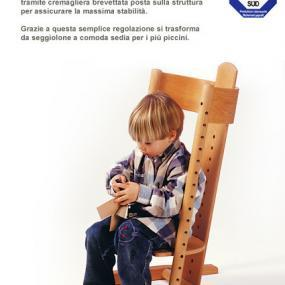 Funzioni seduta per bambini Moizi 2