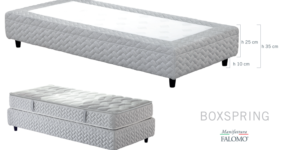 Letto sommier Boxspring