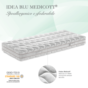Materasso Lattice Idea Blu Medicott