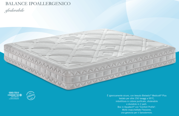Materasso BALANCE IPOALLERGENICO