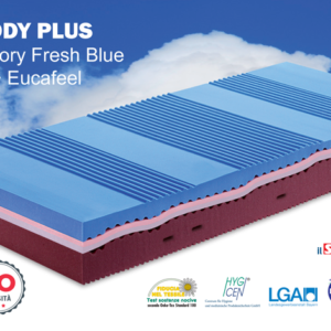 Materasso Relaxody Plus in Memory Fresh Blue