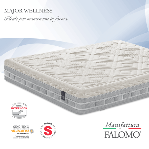 Materasso Falomo Major Wellness