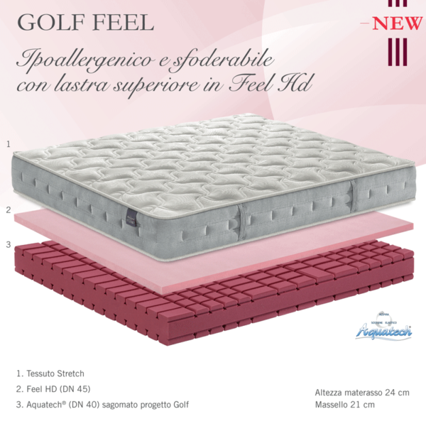 Materasso Falomo Golf Feel